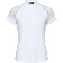 Equipage Brooke kortermet stevneskjorte - Hvit