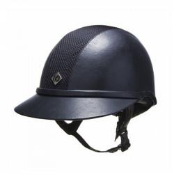 Charles Owen SP8 Leatherlook – Navy