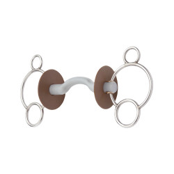 Beris 3 rings kombinasjonsbitt med tungefrihet
