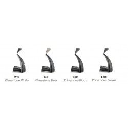 Deksel til Safe Riding Stigbøyler – Premium Rhinestone