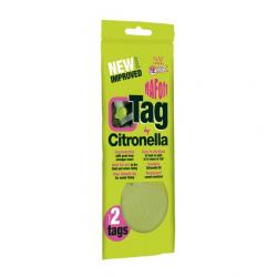 NAF Citronella Tags